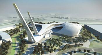 Masjid Ultra Modern Qatar (arsitektur.in)