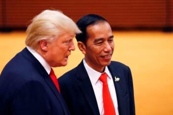 Riset Cuaca Panas Pembasmi Corona di Balik Kekompakan Jokowi-Trump