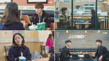 Drama korea Goblin mengiklankan tempat makan subway (Istimewa)