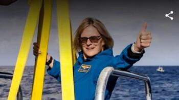 Kisah Kathy Sullivan, Perempuan Pertama Capai Titik Terdalam di Dunia