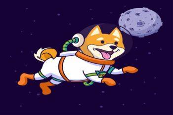 Ilustrasi anjing pernah ke luar angkasa (Freepik)