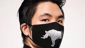 Masker motif hewan (istimewa)
