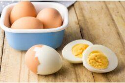 Keefektifan Telur Rebus Bantu Menurunkan Berat Badan