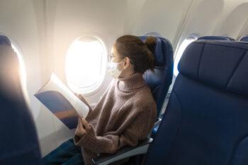 Terbang di Masa Pandemi, Aman Enggak Ya?