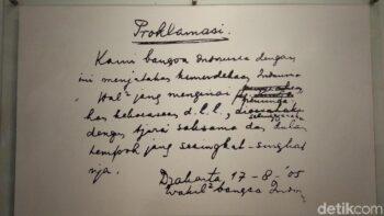 Bersejarah! Ini Menu Sahur Soekarno-Hatta Saat Malam Penyusunan Teks Proklamasi
