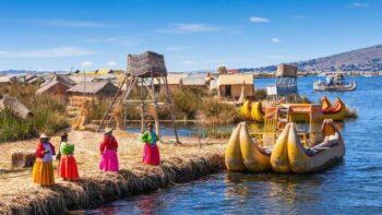 Pulau Terapung di Danau Titicaca, Bolivia, Peru (liputan6)