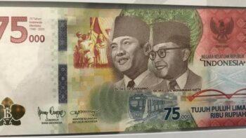 Fakta Unik Uang Pecahan Rp75.000, Apa Saja Ya?