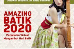 Peringati Hari Batik 2020, Solopos Gelar Virtual Amazing Batik