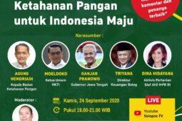 Peringati Hari Tani, Diskusi Virtual Solopos akan Bahas Tuntas Permasalahan Pertanian