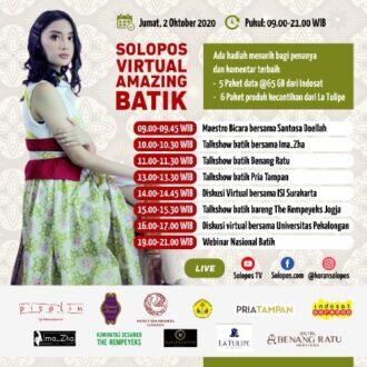 Virtual Amazing Batik Solopos Semarakkan Hari Batik Nasional 2020