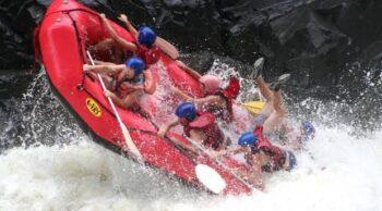 Arung Jeram di Sungai Zambezi (Istimewa)