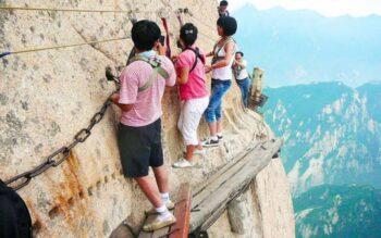 Gunung Huashan (istimewa)