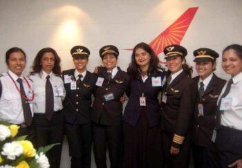 Keren! Pilot Wanita Air India Tuntaskan Misi Penerbangan Terpanjang