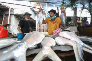 Ikan bandeng merupakan salah satu elemen dalam perayaan Imlek (JIBI/Bisnis Indonesia)