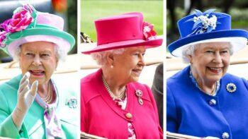 Busana Ratu Elizabeth II selalu berwarna cerah (brightside)
