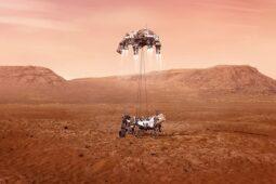 """Momen Derek Angkasa Robot NASA """"Bunuh Diri"""" di Mars"""